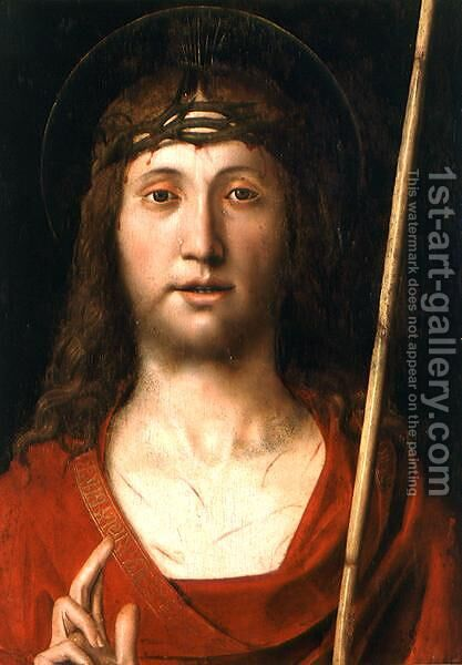 Ecce Homo by Andrea Solario - Reproduction Oil Painting