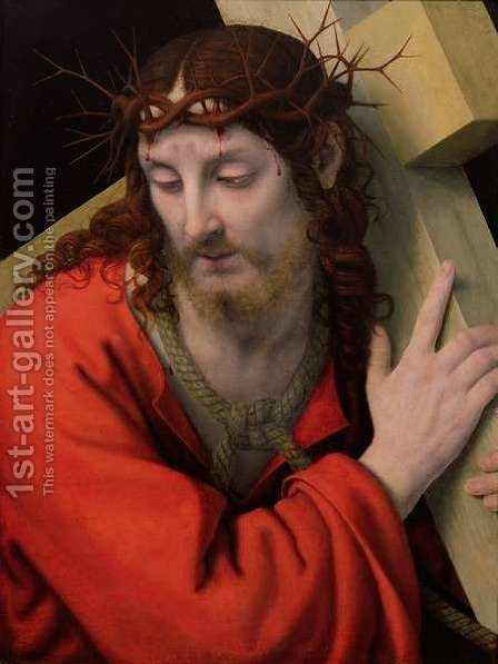 Christ Carrying the Cross, 1505-15 by Andrea Solario - Reproduction Oil Painting