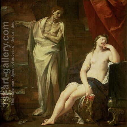 Didos Dream, 1697 by Giovanni Gioseffo da Sole - Reproduction Oil Painting