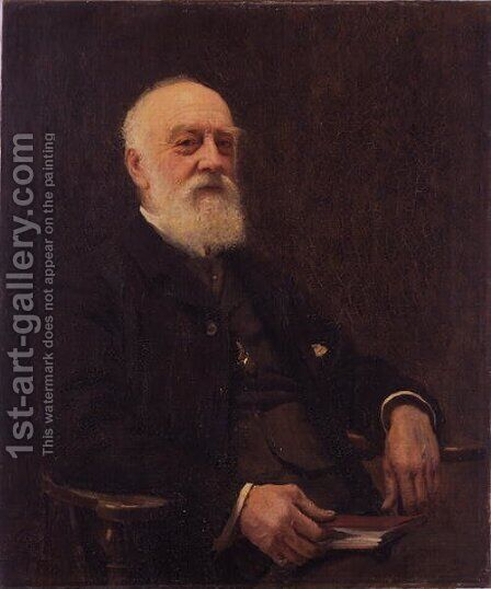 Dr. E.T. Wilson, 1910 by Alford Usher Soord - Reproduction Oil Painting