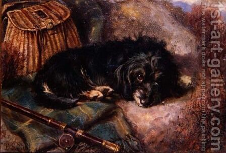 On Guard, 1880 by David George Steell - Reproduction Oil Painting
