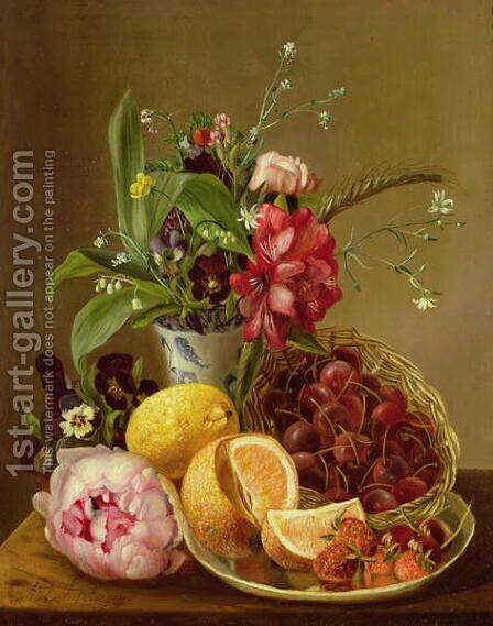Still Life by Albertus Steenberghen - Reproduction Oil Painting