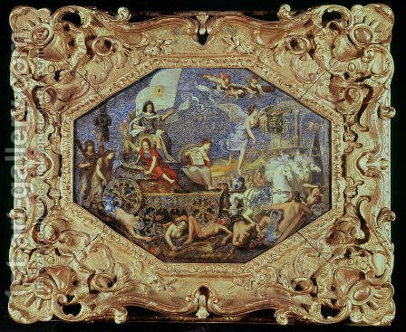 The Triumph of Louis XIII 1601-43 over the Enemies of Religion, 1642 by Jacques Stella - Reproduction Oil Painting
