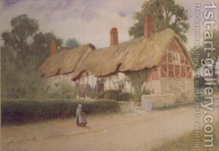 On the Way Home by Arthur Claude Strachan - Reproduction Oil Painting