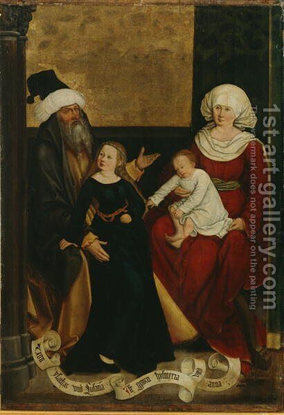 Strigel, Bernhard 1460-1528 by Bernhard Strigel - Reproduction Oil Painting