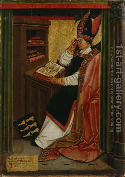 St. Serf, c.1505-06 by Bernhard Strigel - Reproduction Oil Painting