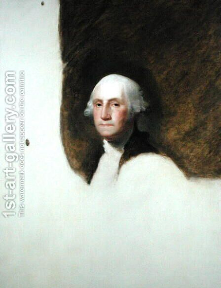 Portrait of George Washington by Jane Stuart - Reproduction Oil Painting