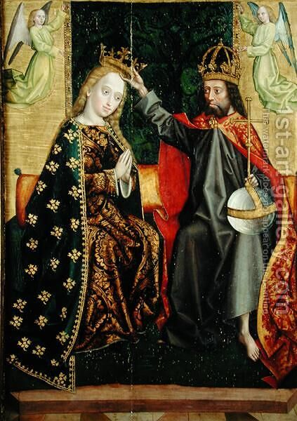 The Virgin Enthroned, from the Dome Altar, 1499 by Absolon Stumme - Reproduction Oil Painting