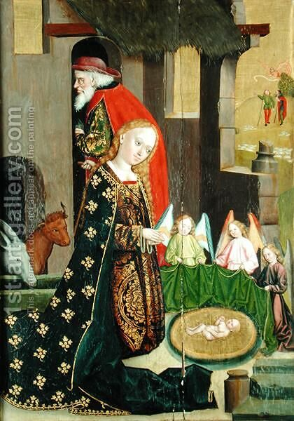Nativity, from the Dome Altar, 1499 by Absolon Stumme - Reproduction Oil Painting