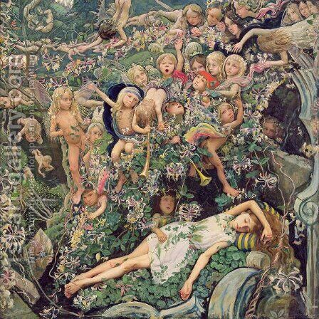A Fairy Tale by Mark Lancelot Symons - Reproduction Oil Painting