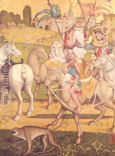The Cavalcade of the Magi, c.1460 by Anonymous Artist - Reproduction Oil Painting
