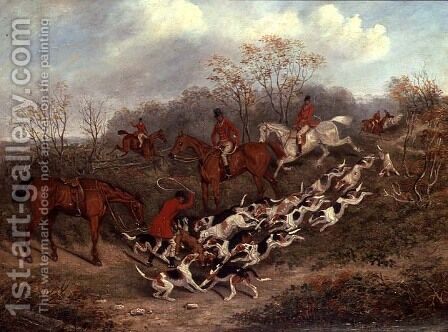 The Kill, 1846 by James Russell Ryott - Reproduction Oil Painting