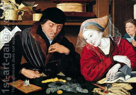 The Tax Collector by Marinus van Roejmerswaelen - Reproduction Oil Painting