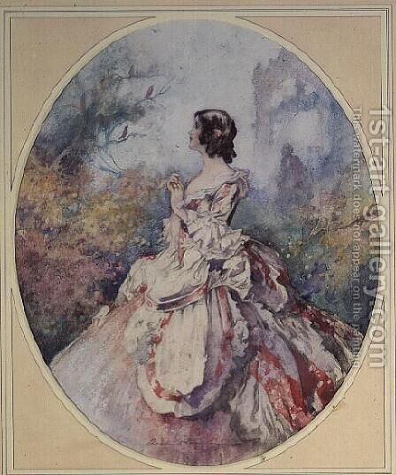 Music, c.1920 by Charles Robinson - Reproduction Oil Painting
