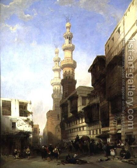 Cairo by David Roberts - Reproduction Oil Painting