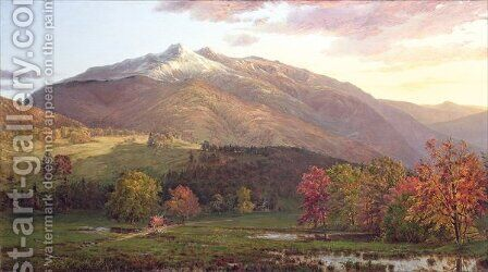 Mount Monroe and Adams, c.1874 by Horace Wolcott Robbins - Reproduction Oil Painting