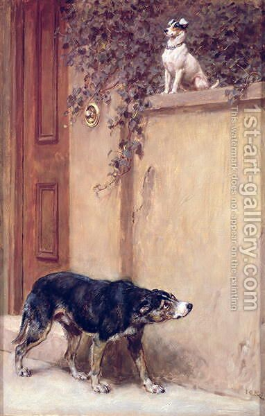 Pride of Place by Briton Rivière - Reproduction Oil Painting