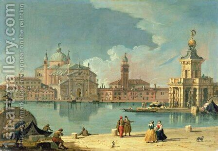 The Redentore, Venice by (circle of) Richter, Johan Anton - Reproduction Oil Painting