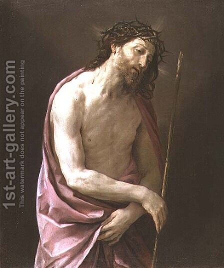 The Man of Sorrows, c.1639 by Guido Reni - Reproduction Oil Painting