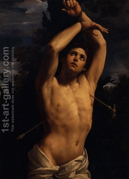 St. Sebastian by Guido Reni - Reproduction Oil Painting