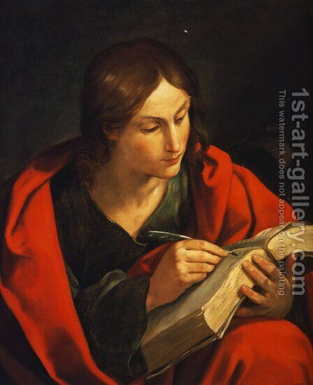 St. John the Evangelist by Guido Reni - Reproduction Oil Painting