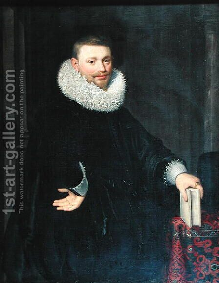 Vrijdags van Vollenhoven the Younger, 1620 by Jan Anthonisz. van Ravestyn - Reproduction Oil Painting