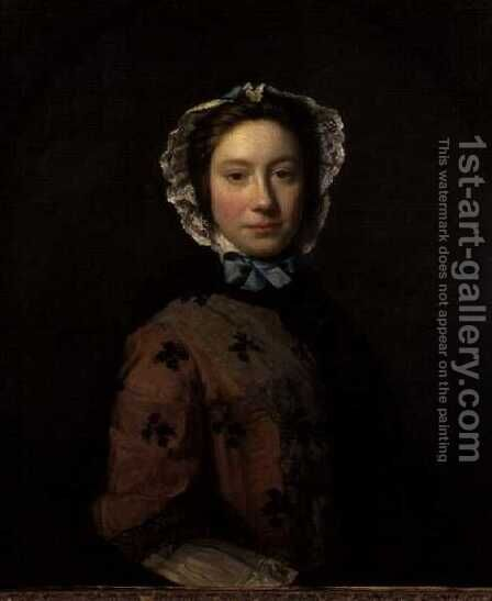 Rosamond Sargent by Allan Ramsay - Reproduction Oil Painting