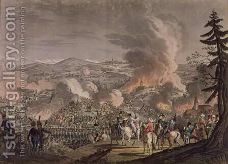 The Battle of Austerlitz, December 2nd 1805 by J-L Ragendas - Reproduction Oil Painting