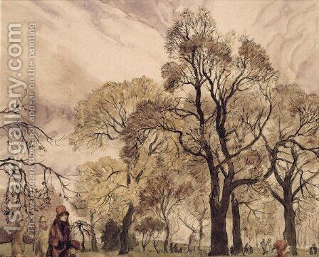 Regents Park by Arthur Rackham - Reproduction Oil Painting