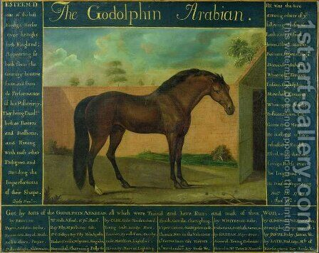 The Godolphin Arabian by Daniel Quigley - Reproduction Oil Painting