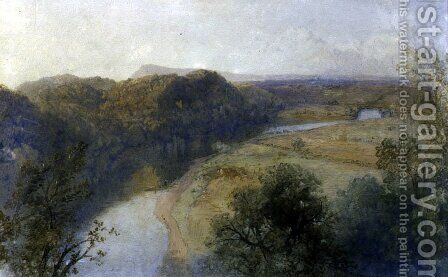 The Ribble from Red Seat by James Baker Pyne - Reproduction Oil Painting