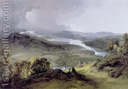 Windermere from Orrest Head by James Baker Pyne - Reproduction Oil Painting