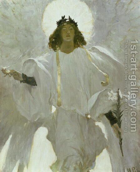 Why Seek Ye the Living Among the Dead, 1905 by Howard Pyle - Reproduction Oil Painting