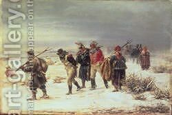 In the Year 1812 by Illarion Mikhailovich Pryanishnikov - Reproduction Oil Painting