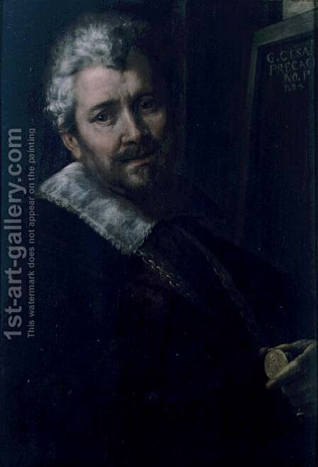 Self Portrait, 1624 by Giulio Cesare Procaccini - Reproduction Oil Painting