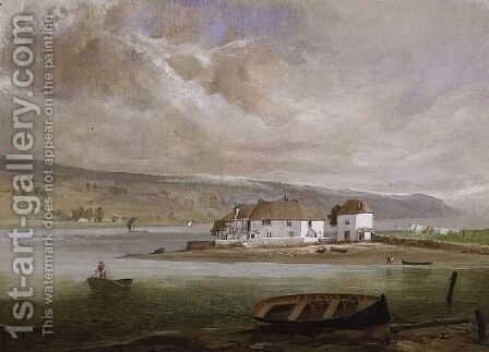 Coombe Cellars by C.V. Popham - Reproduction Oil Painting