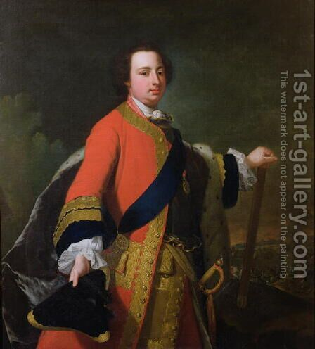 William Augustus, Duke of Cumberland by Arthur Pond - Reproduction Oil Painting