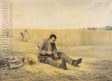 The Journeyman by Henri Pluchart - Reproduction Oil Painting