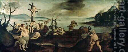The End of the Hunt by Cosimo Piero di - Reproduction Oil Painting