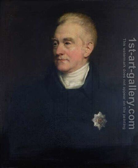 George John Spencer, 2nd Earl Spencer 1758-1834 1833 by Henry William Pickersgill - Reproduction Oil Painting
