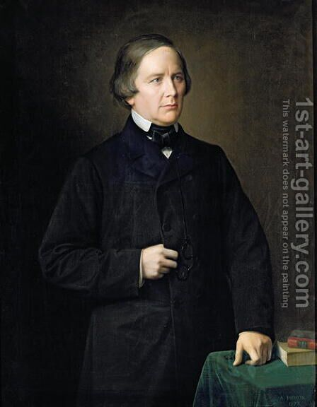 Charles Forbes 1810-70 Count of Montalembert, 1879 by Auguste Pichon - Reproduction Oil Painting