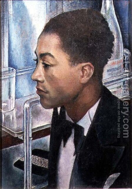 Monsieur Julien Zaire Tom Whiskey 1931-32 by Glyn Warren Philpot - Reproduction Oil Painting