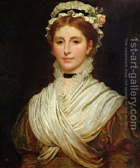 Kate Mrs Perugini by Charles E. Perugini - Reproduction Oil Painting