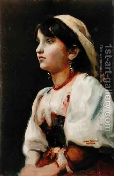 Geralda, c.1880s by James Paterson - Reproduction Oil Painting
