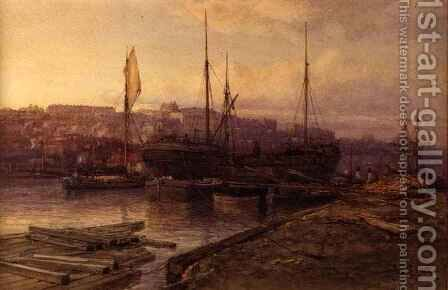 Bristol Docks, 1896 by Arthur Wilde Parsons - Reproduction Oil Painting