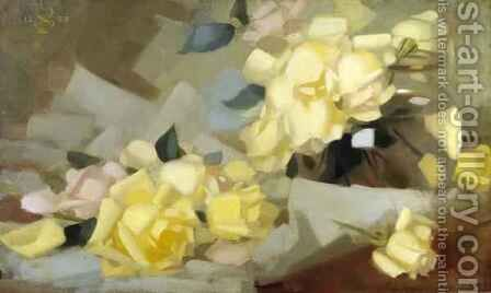 Roses by James Stuart Park - Reproduction Oil Painting