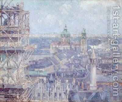 Leipzig by Charles J. Palmie - Reproduction Oil Painting