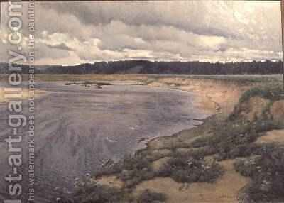 Siverko, 1890 by Ilya Ostrouhov - Reproduction Oil Painting
