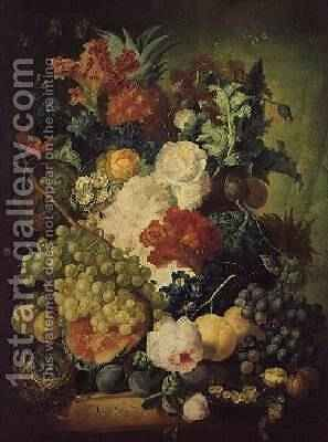 Still Life by Jan van Os - Reproduction Oil Painting