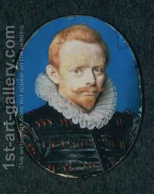 Sir Francis Drake by Isaac Oliver - Reproduction Oil Painting